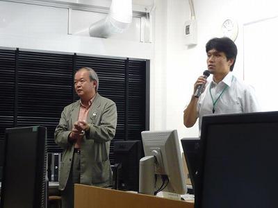 澁澤先生(左)